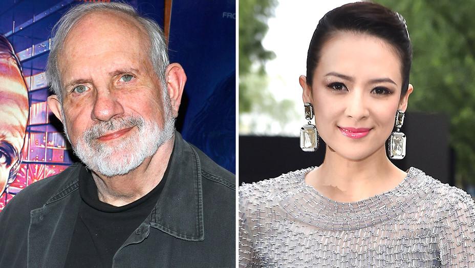 Brian De Palma and Zhang Ziyi Split-Gety-H 2016