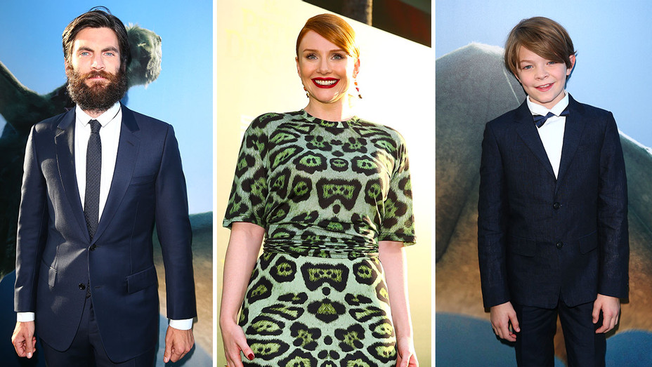 Bryce Dallas Howard, Wes Bentley and Oakes Fegley_Split - Getty - H 2016
