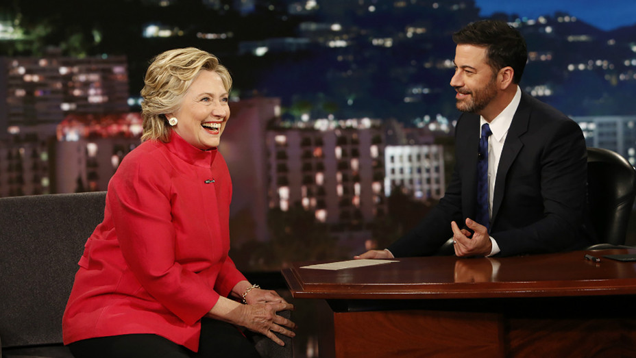 Clinton on Kimmel ABC 2016 - H