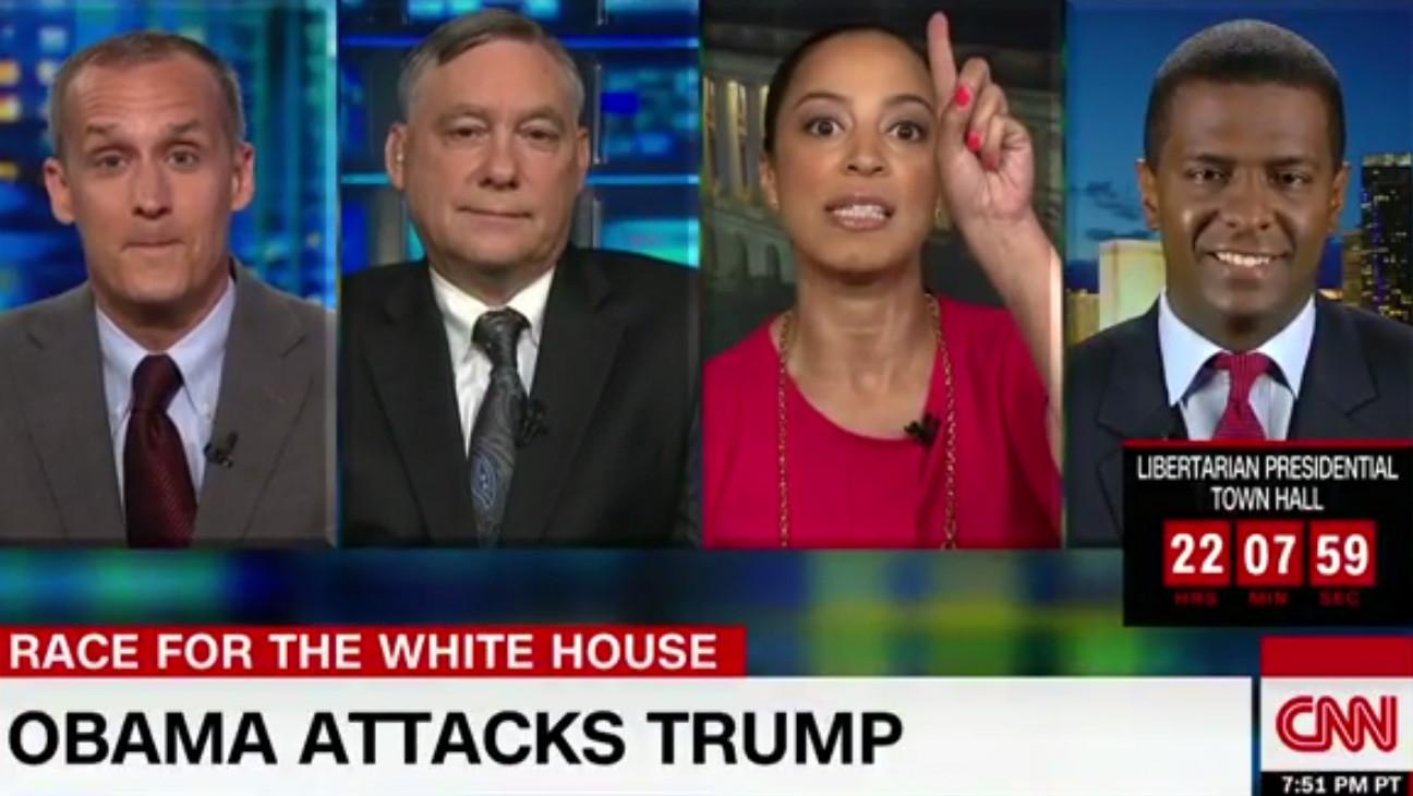 CNN Angela Rye grab - H