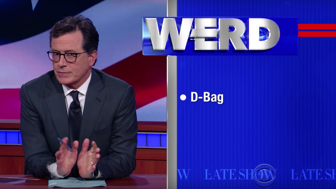 Stephen Colbert The Werd - H 2016