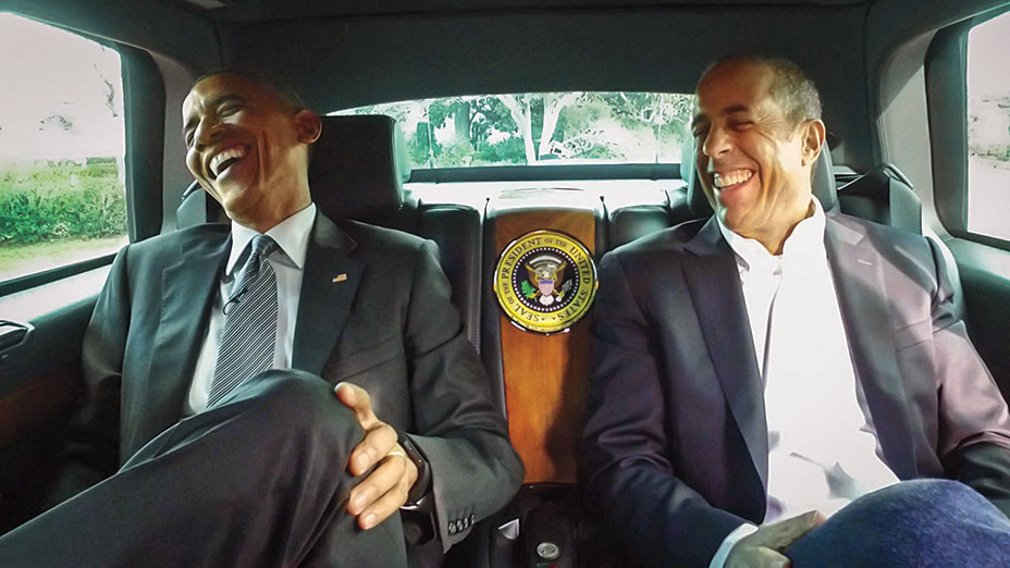 Comedians In Cars POTUS H 2016