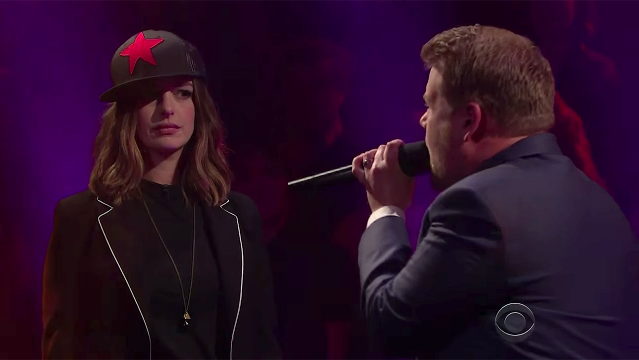 Drop the Mic with Anne Hathaway-Screen shot-H 2016