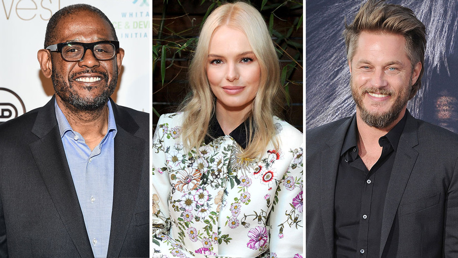 Forest Whitaker, Kate Bosworth and Travis Fimmel split-Getty-H 2016