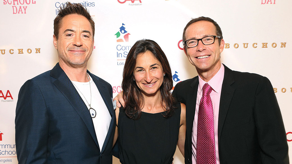 Robert Downey Jr., Deborah Marcus and  Richard Lovett-Getty-H 2016