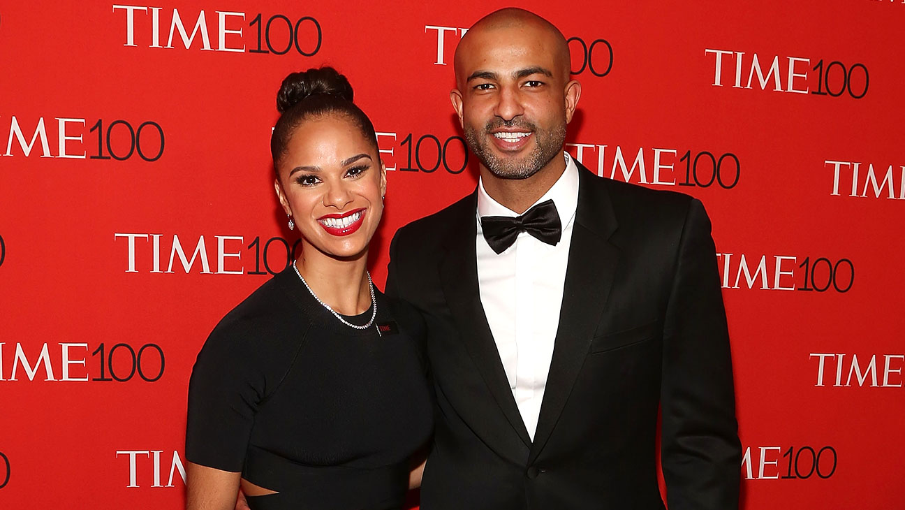 Misty Copeland and Olu Evans - 2015 Time 100 Gala-H 2016
