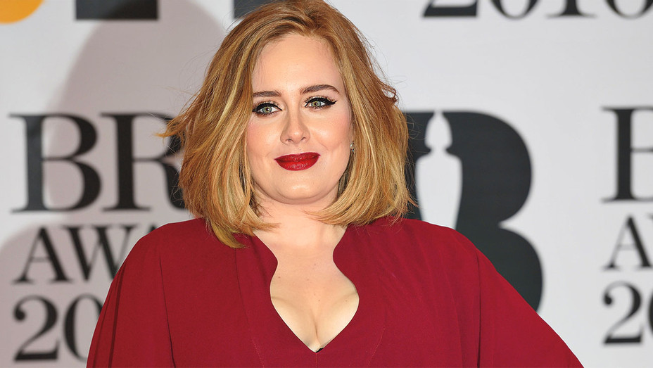 Adele attends the BRIT Awards 2016-Getty-H 2016