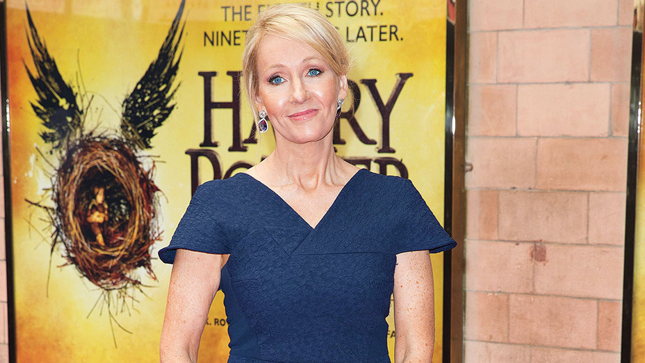 J. K. Rowling - press preview of Harry Potter & The Cursed Chid-Getty-H 2016