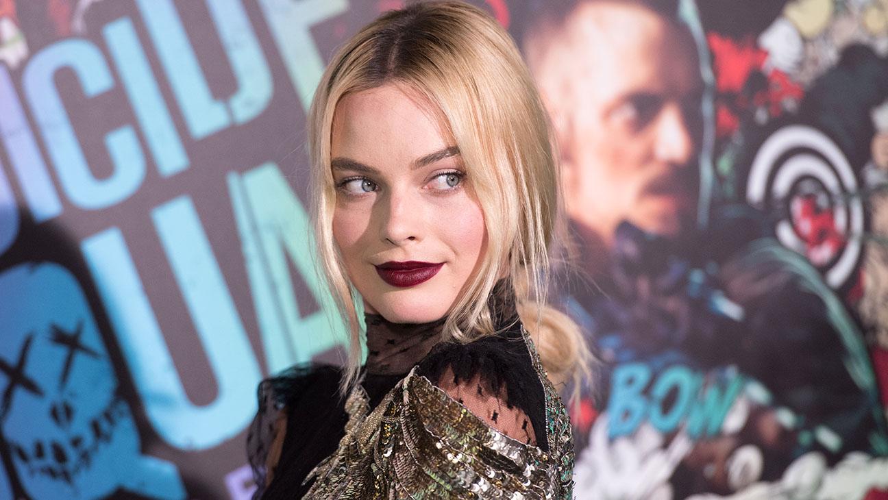 Margot Robbie -world premiere of Suicide Squad -Getty-H 2016