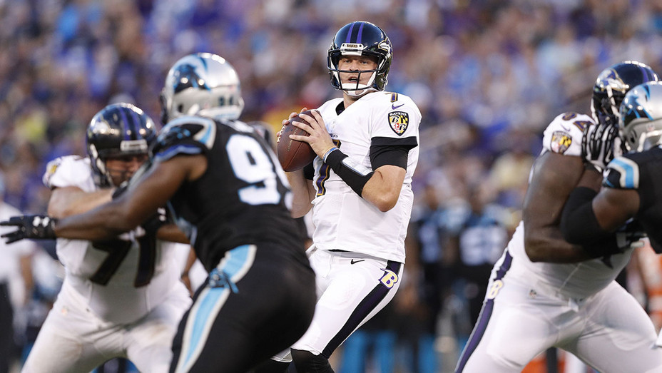 Baltimore Ravens andCarolina Panthers -Ryan Mallett #7 - August 11, 2016-Getty-H 2016