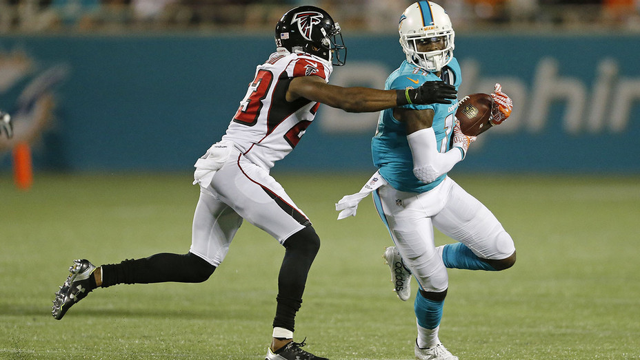 Falcons and Miami Dolphins -during a preseason game -Getty-H 2016