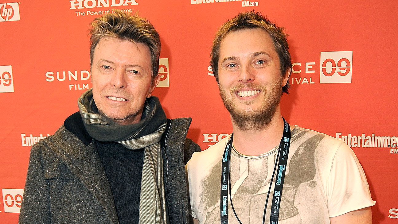 David Bowie and Duncan Jones -Getty-H 2016