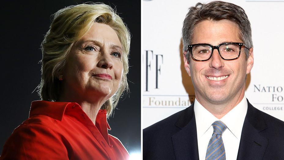 Hillary Clinton and Casey Wasserman Split-Getty-H 2016