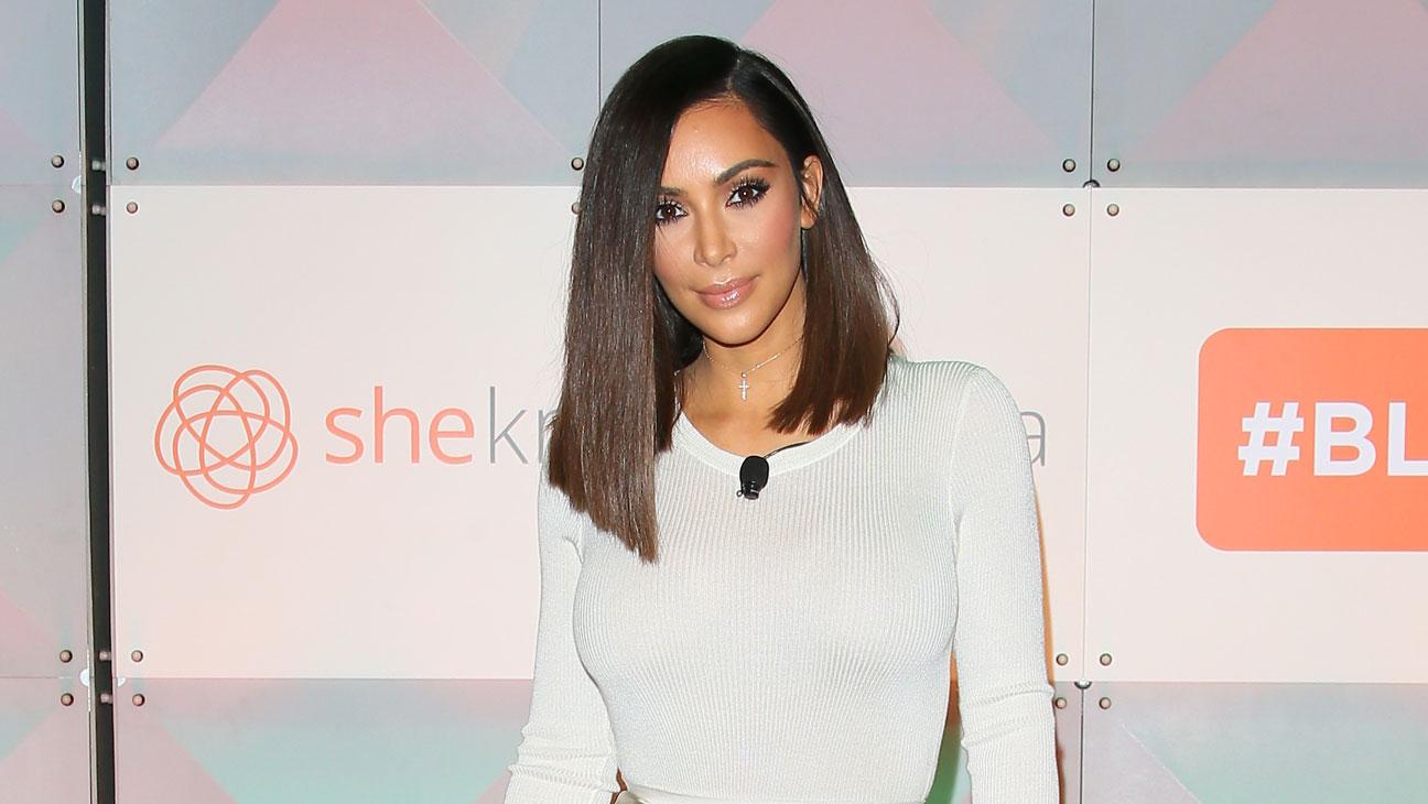 Kim Kardashian Blog Her Conference - Getty - H 2016