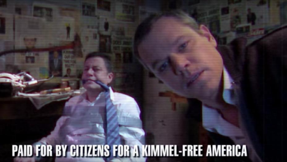 Matt Damon Jimmy Kimmel Attack Ad — H 2016