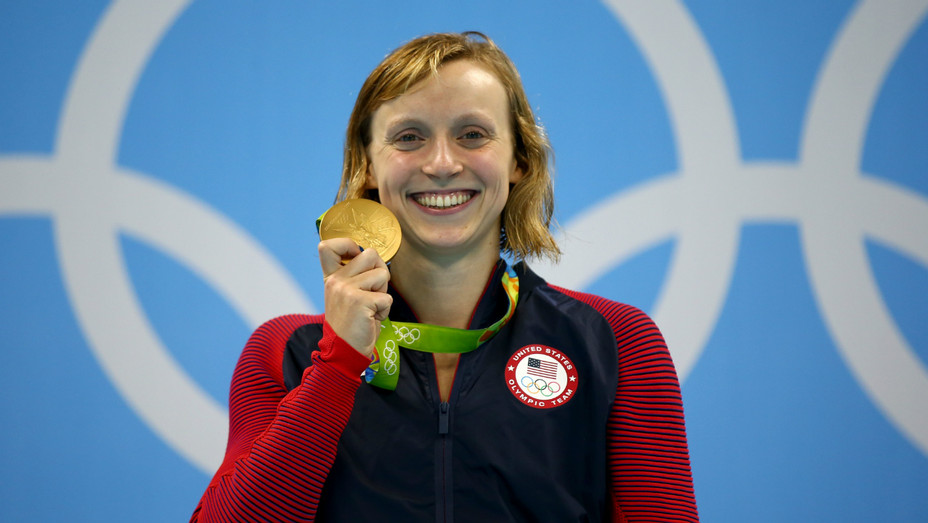 Katie Ledecky at Olympics - Getty - H 2016