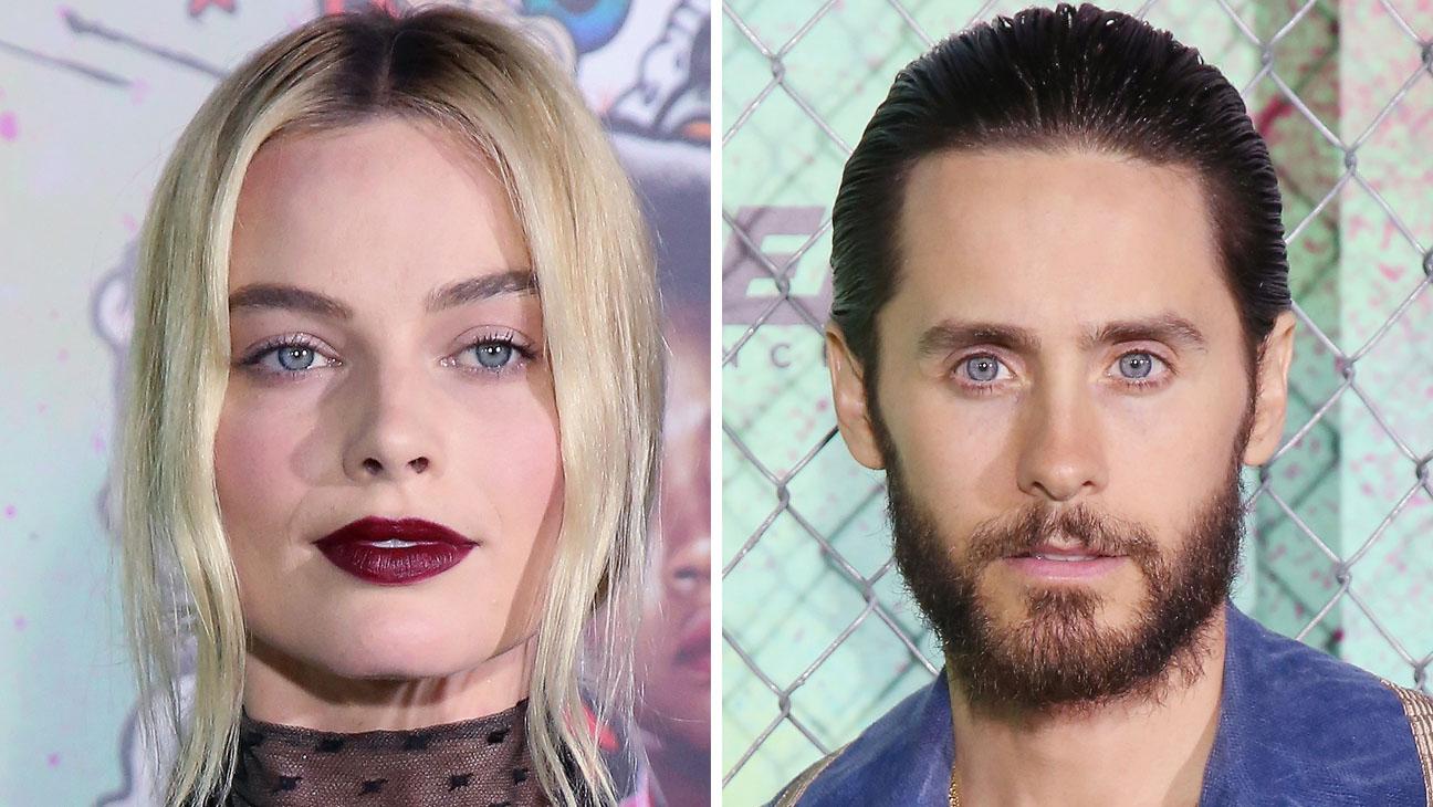 Margot Robbie Jared Leto Suicide Squad Split H 2016