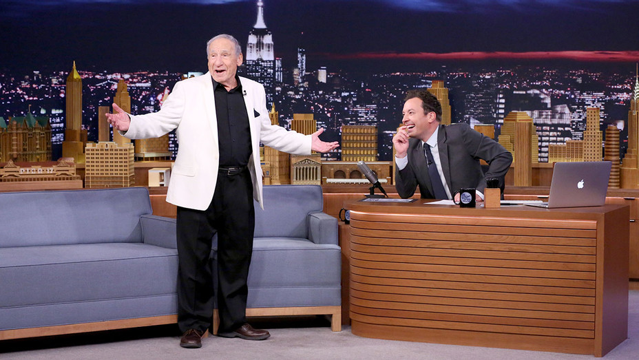 Mel Brooks Jimmy Fallon - Getty - H - 2016