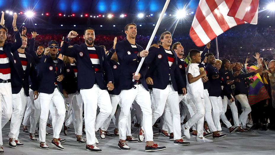 Michael Phelps Opening Ceremony Rio H 2016