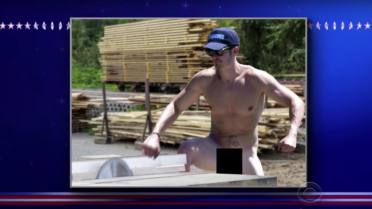Nude Orlando Bloom Woodworking Photoshop— H 2016