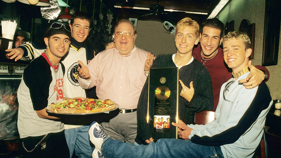 Lou Pearlman with NSYNC - Getty - H 2016