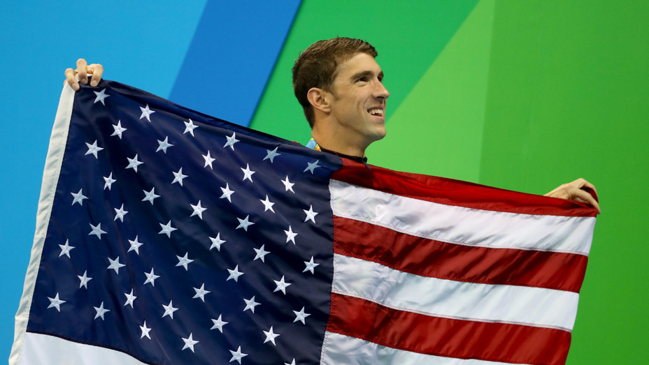 Michael Phelps at Olympics - Getty - H 2016