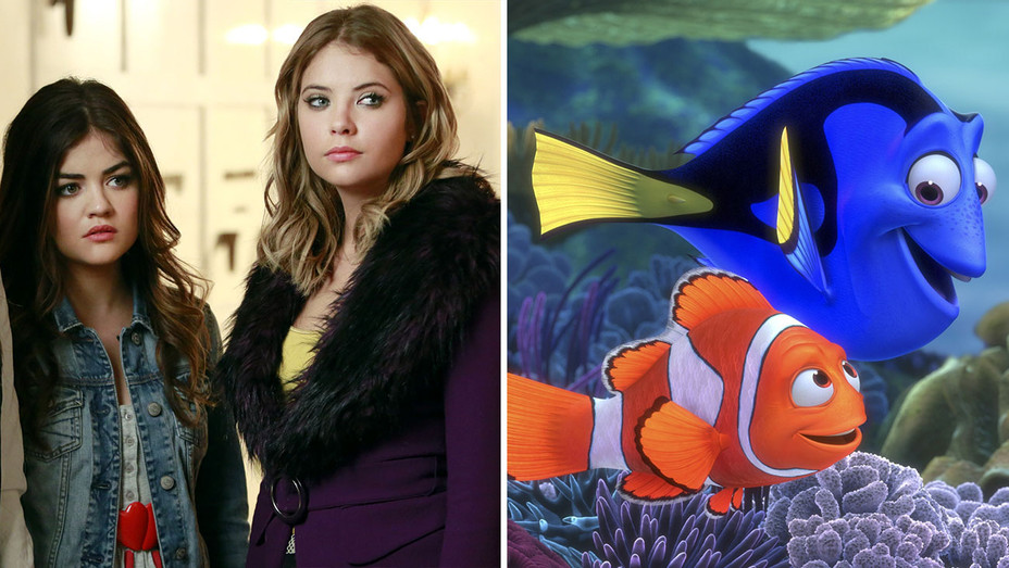 Pretty Little Liars and Finding Nemo Split- Photofest-H 2016