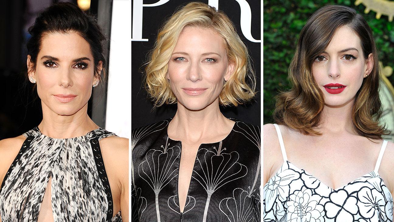 Sandra Bullock, Cate Blanchett and Anne Hathaway-Split-Getty-H 2016