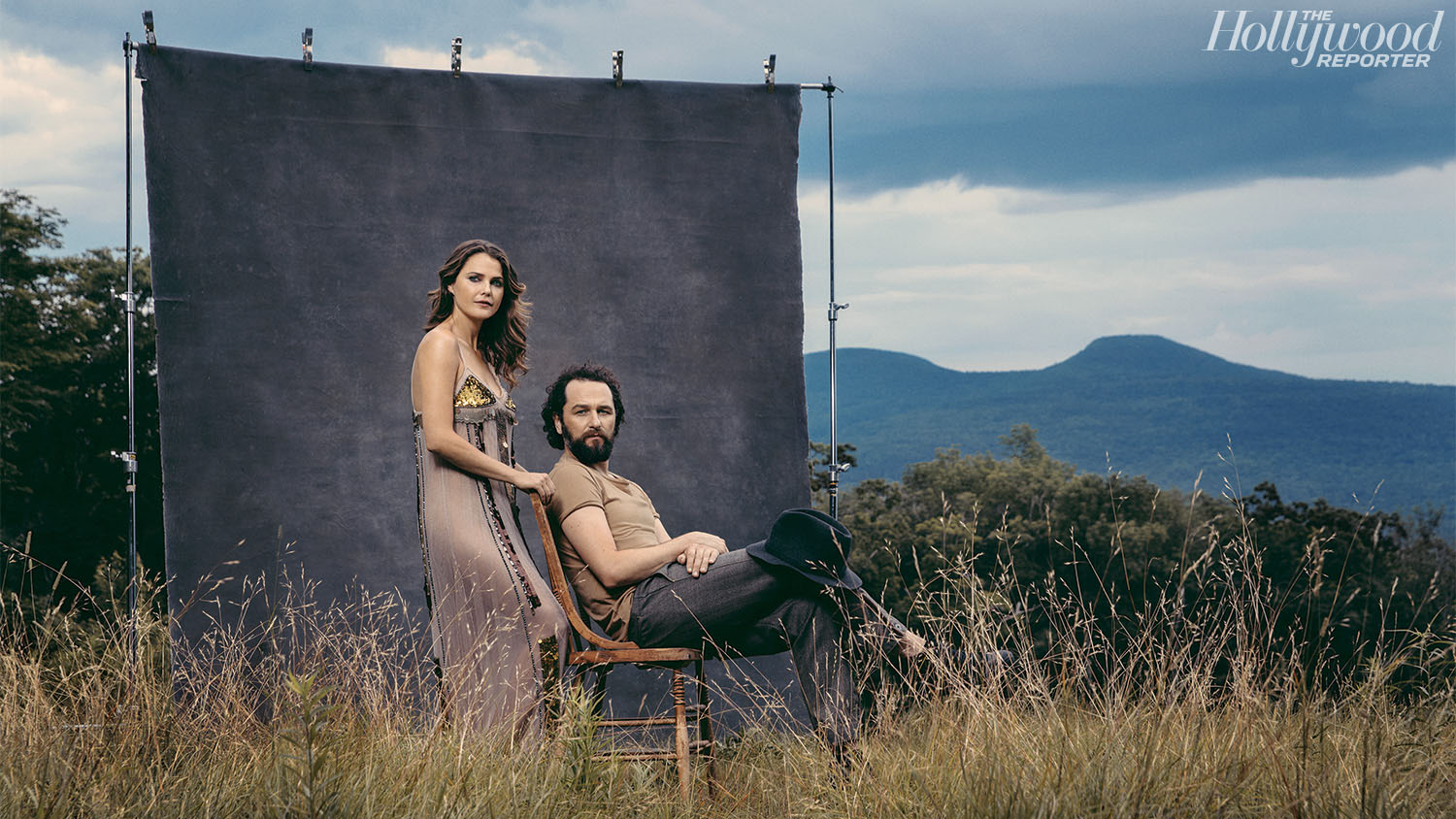 'The Americans' On- and Offscreen Couple Keri Russell and Matthew Rhys in Rare Joint Interview