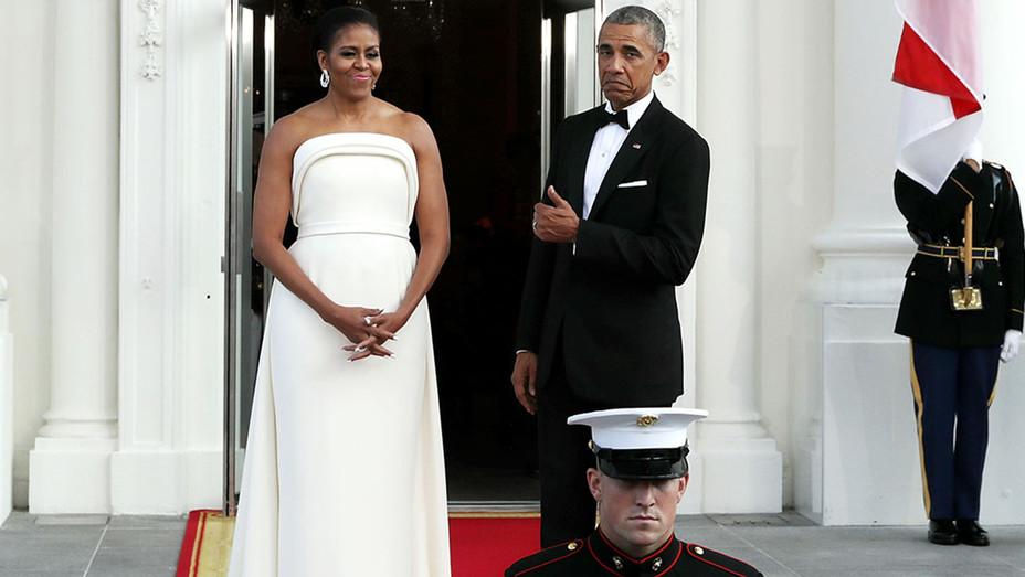 State Dinner Lee Hsien Loong Michelle Barack Obama H 2016