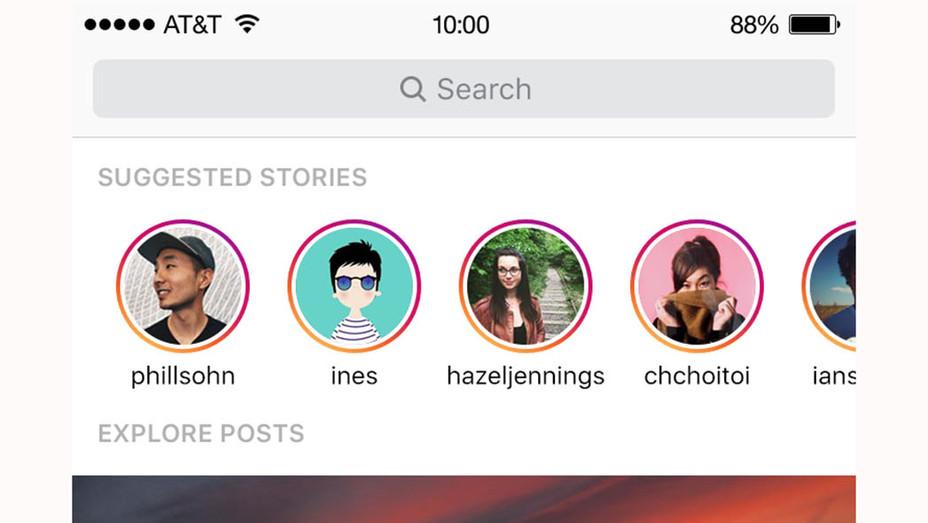 Instagram Stories on Explorer- Publicity-P 2016