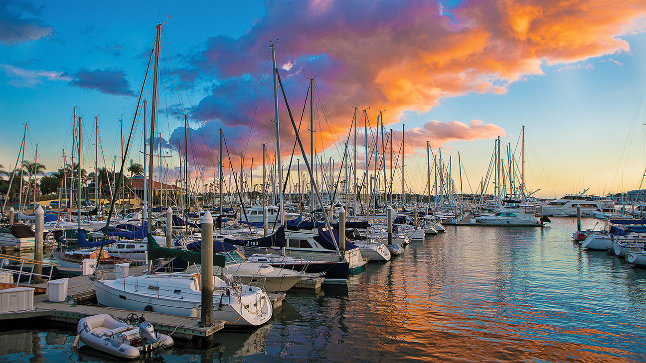 Marina del Rey Beach Guide - ONE TIME USE-Cafe del Rey-H 2016