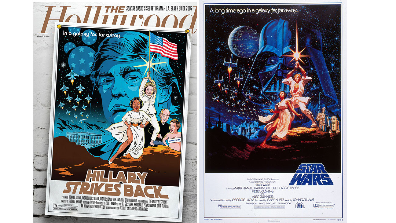 THR 24 Cover and Star Wars Poster-Photofest-H 2016