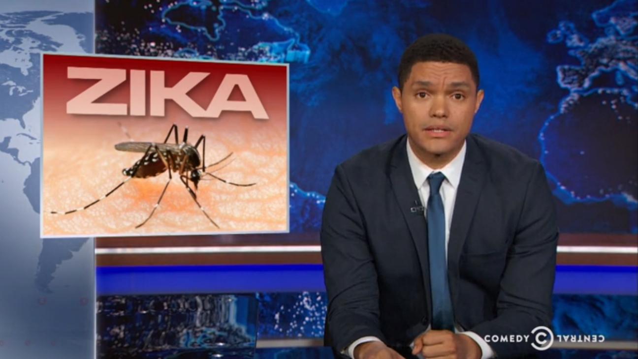 Trevor Noah on Zika — H 2016