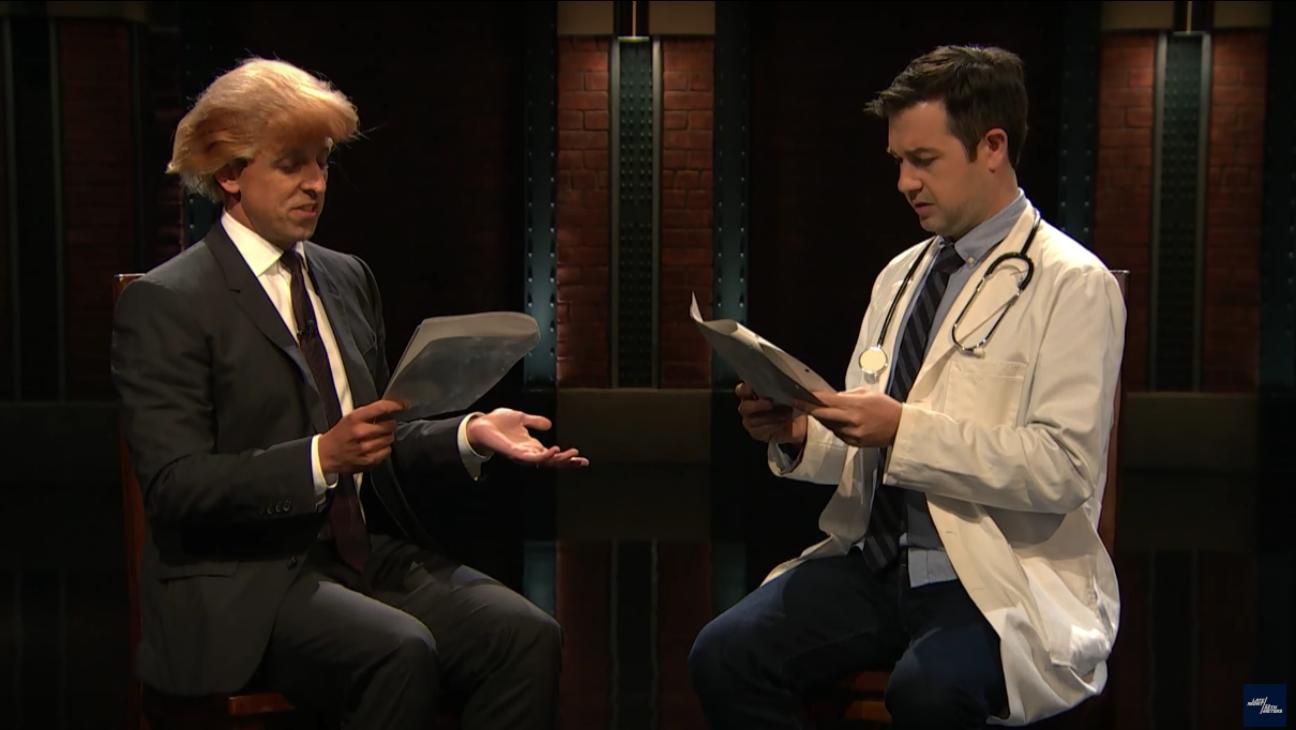 Seth Meyers as Donald Trump — H 2016