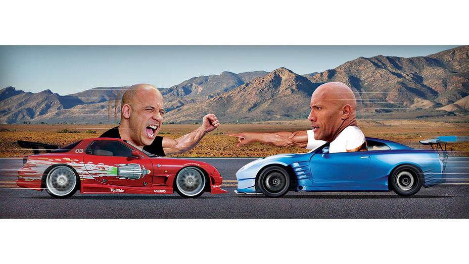 Vin Diesel vs The Rock Illo - H 2016