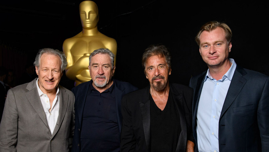 Michael Mann, Al Pacino, Robert De Niro, Christopher Nolan - Publicity - H 2016