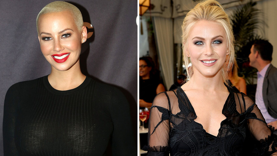 Amber Rose and Julianne Hough Split- Getty -H 2016