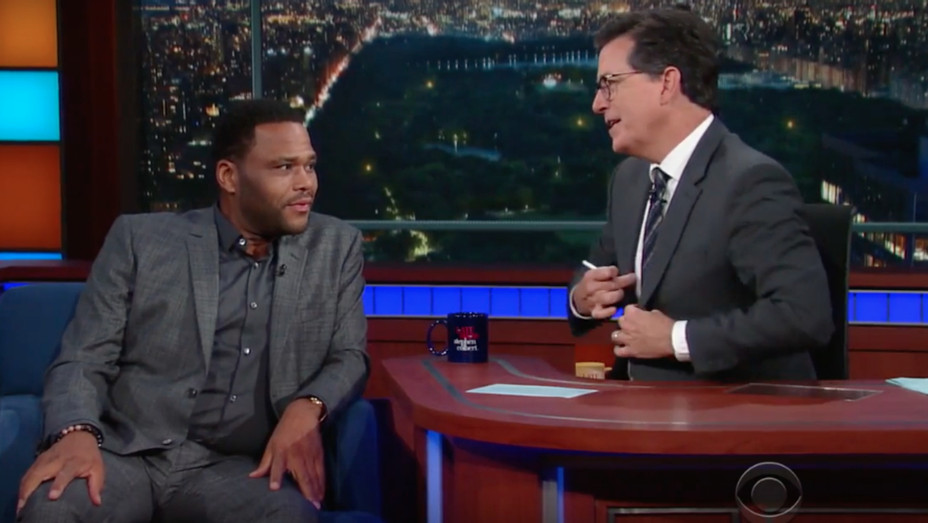 Anthony Anderson on Colbert — H 2016