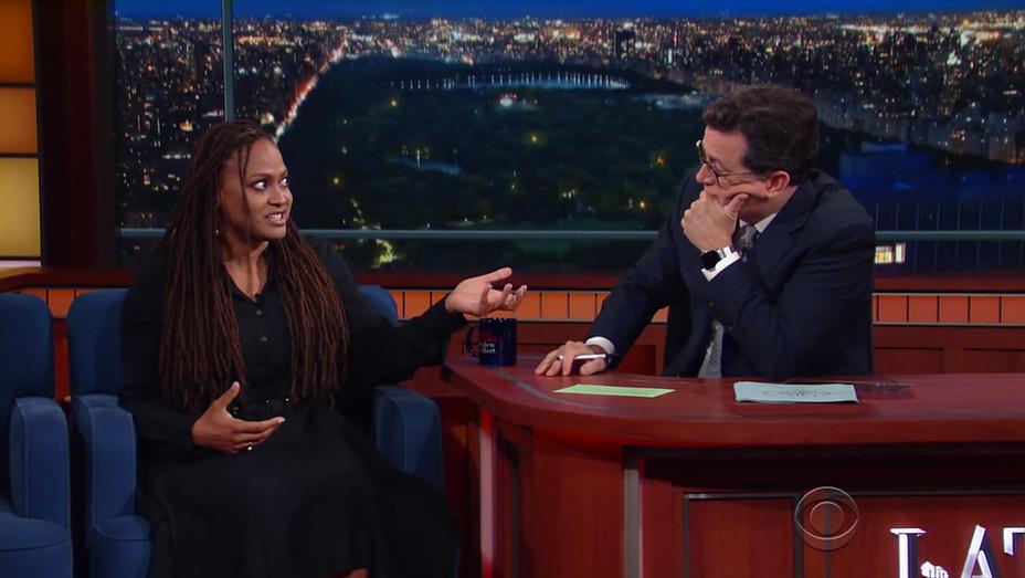Ava DuVernay Stephen Colbert H 2016