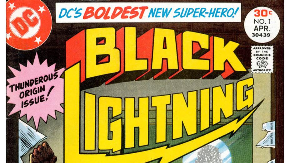 Black Lightning Cover 1 - P 2016