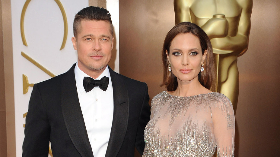 Brad Pitt - Angelina Jolie - Oscars - H - 2016