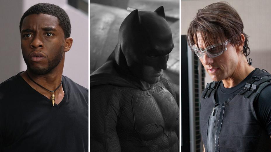 Captain America Civil War - Bateman vs Superman - Mission Impossible - Split - H - 2016