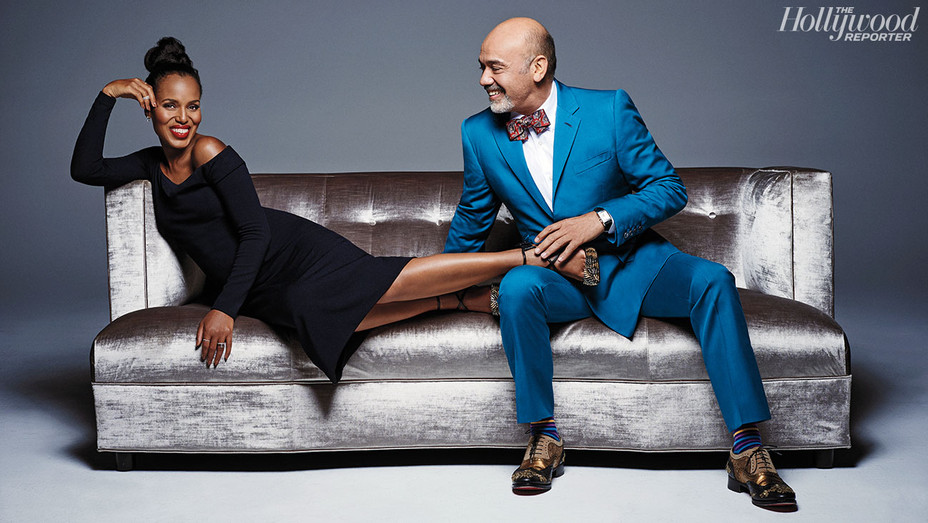 Christian Louboutin and Kerry Washington -  by Mary Rozzi? - P - 2016