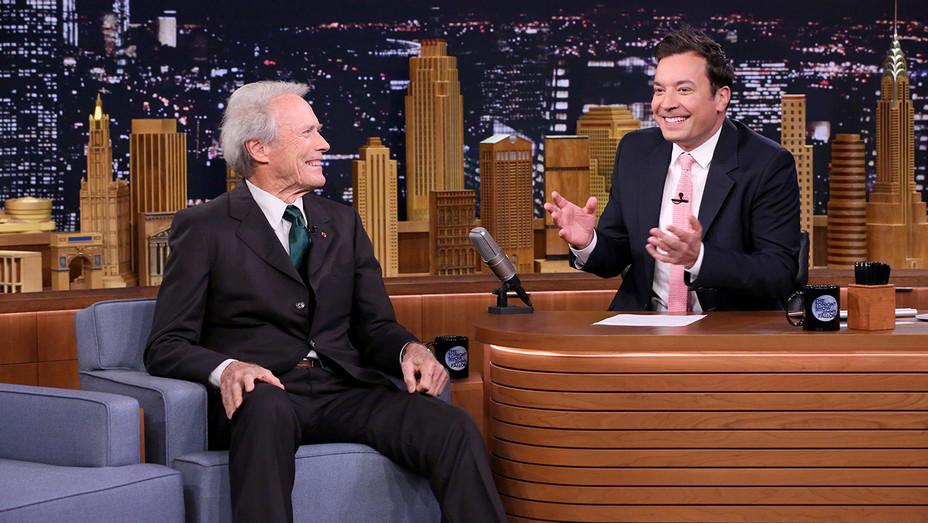 Clint Eastwood Jimmy Fallon H 2016