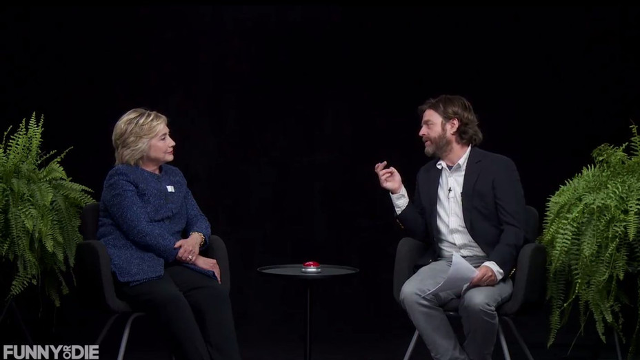 Hillary Clinton on 'Between Two Ferns' - H 2016
