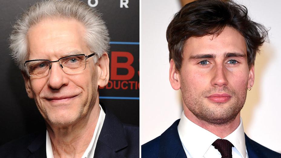 David Cronenberg and Edward Holcroft Split - Getty- H 2016