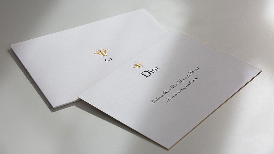 Dior Invite - H - 2016