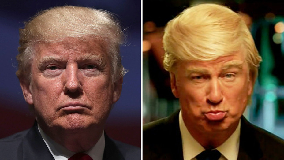 Donald Trump - Alec Baldwin as Donald Trump - Split - H - 2016