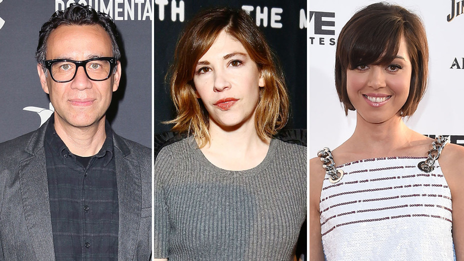 Fred Armisen Carrie Brownstein Aubrey Plaza - Split - H - 2016